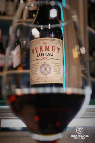 Lustau vermouth at La Hora del Vermut, Madrid, Spain