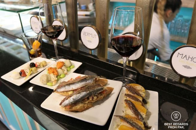 Pairing vermouth and food at La Hora del Vermut, Madrid, Spain