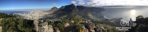 Lion's Head Panorama, Cape Town, South Africa