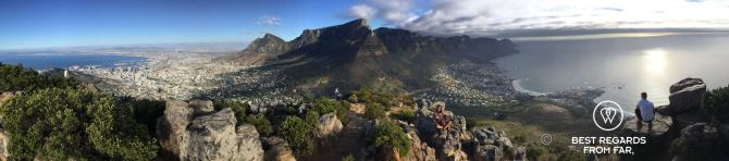 Lion's Head Panorama Cape Town