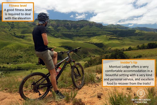 Top 8 Must Do Adventures in South Africa - Mountain biking Drakensberg