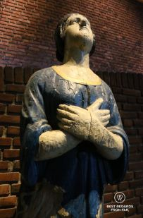 A figurehead at display in the Norwegian Maritime Museum, Oslo, Norway