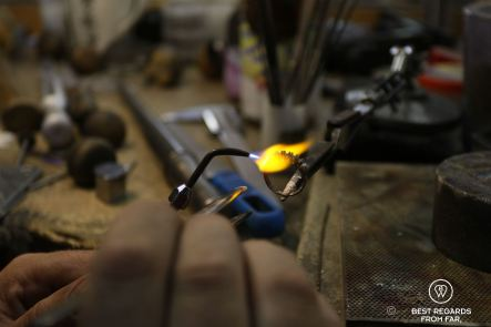 Ring being made at Prins & Prins, Cape Town