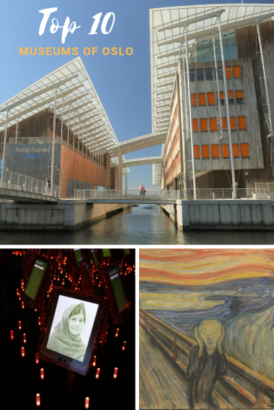 Top 10 museums of Oslo