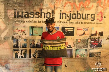 I was shot community project in downtown Johannesburg, South Africa