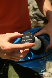 The Katadyn fiberglass filter of the Katadyn Gravity Camp 6L