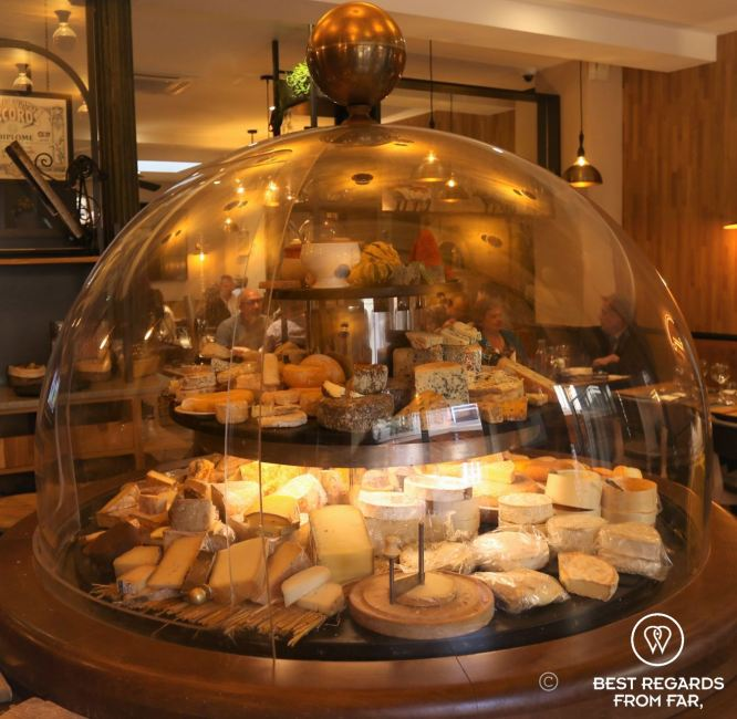 World's largest cheese dome at La cloche à fromages, Strasbourg, France