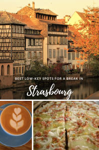 Pinterest Pin Strasbourg - France low-key spots