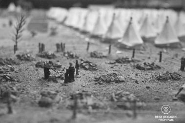 Burying another victim of the concentration camps, Bloemfontein, South Africa