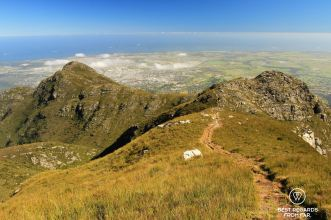 George and George Peak seen from Cradock Peak, George, South Africa