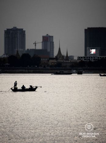 Fishermen on the Mekong, Phnom Penh, Cambodia
