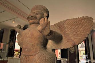 Garuda, Koh Ker style (10th century), National Museum of Cambodia, Phnom Penh