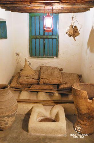 Date storage room at Bait al Zubair museum, Muscat, Oman