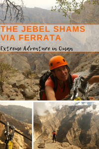 Jebel Shams Via Ferrata - Pinterest 2 - PIN - Oman