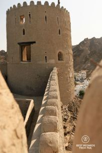 Mutrah Fort, Muscat, Oman