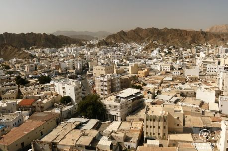 Mutrah from the Mutrah Fort, Muscat, Oman
