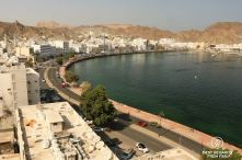 Mutrah from Mutrah Fort, Muscat, Oman
