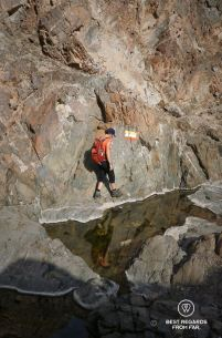 Hiking Ryiam to Mutrah, Muscat, Oman