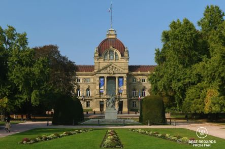 Prussian architecture, the Emperor's palace at Place de la République, Strasbourg, France