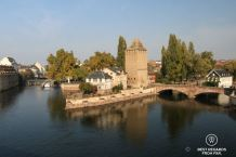 Ponts couverts built by the French, Strasbourg, France
