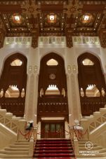 Foyer of the Royal Opera House, Muscat, Oman