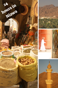 24 hours in Nizwa - Oman Pinterest - PIN
