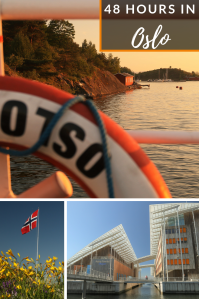 48 Hours in Oslo - Pinterest - PIN - Norway