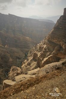 Jebel Shams Balcony walk and via ferrata, Oman