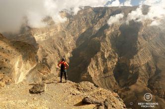 Jebel Shams Balcony walk and via ferrata, Oman