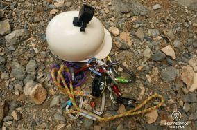 Via ferrata gear to tackle Jebel Shams, Oman