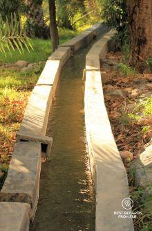 The falaj system in Misfat Al Abriyeen, Oman