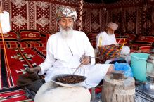 Coffee roasting in the Nizwa Fort, Oman