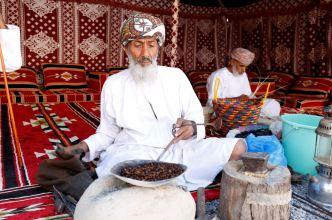 Coffee roasting in the Nizwa Fort, Oman