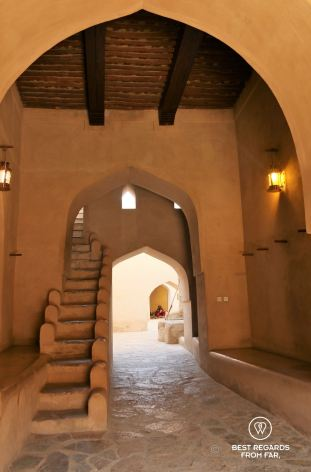 Entrance of the Nizwa Fort, Oman