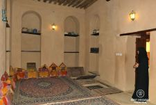 The Imam's bedroom, in the Castle of the Nizwa Fort, Oman
