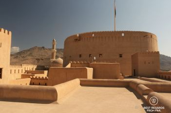 Rooftop of the Nizwa Castle, Oman