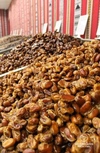 Dates at the Nizwa souq, Oman
