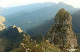 The Maïdo Peak at the break of dawn, Reunion Island