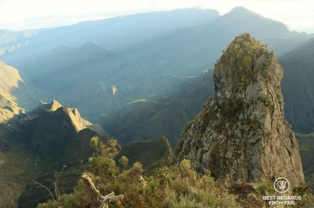 The Maïdo Peak at the break of dawn, Reunion Island