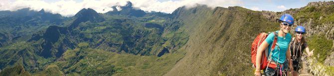 Rock climbing Maïdo - Reunion Island - 14