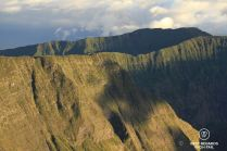 The majestic Mafate ramparts by the Maïdo Peak, Reunion Island
