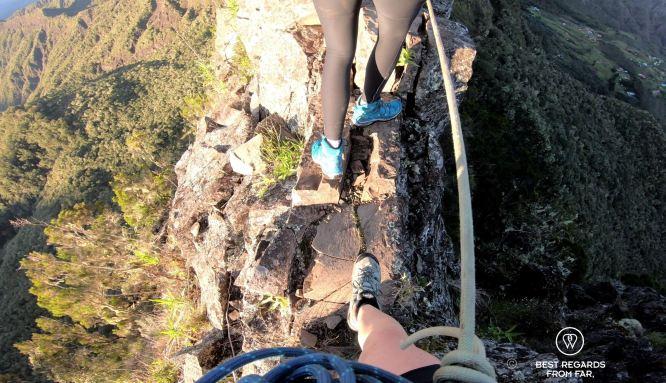 Living on the edge, 3 Salazes, Réunion