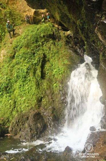 Canyoning Sainte Suzanne, the Reunion Island