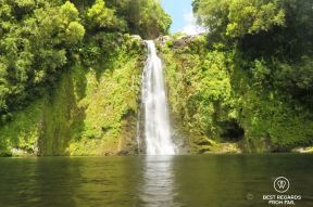 Canyoning the Sainte Suzanne Canyon, the Reunion Island