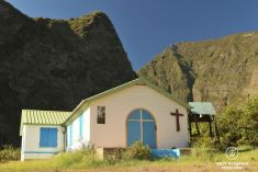 The church of Ilet des Orangers, exclusive multiday hike through the 3 cirques, Réunion