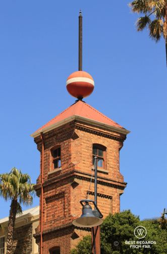The time ball tower near the V&A Waterfront, Cape Town, South Africa