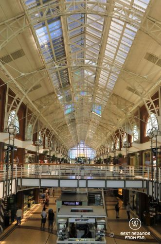 The trendy Victoria Mall, V&A Waterfront, Cape Town, South Africa