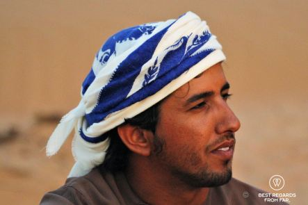 Bedouin life in the desert of Oman