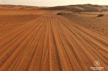 Desert highway, Oman