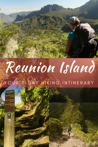 Pin it to experience multiday hiking on Réunion Island later!